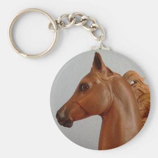 Breyer Custom Huckleberry Bey Keychain