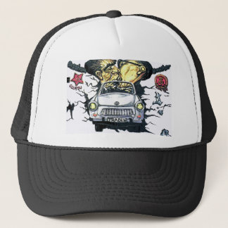 Brezhnev & Honecker, Trabant Car , Berlin (pst) Trucker Hat