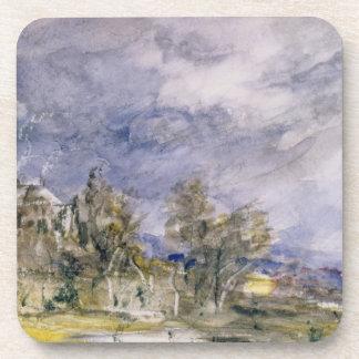 Brezo de Hampstead del paseo bien cercano, 1834 (w Posavaso