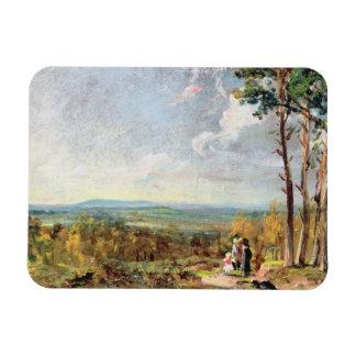 Brezo de Hampstead que mira hacia la grada, 1821 ( Imanes
