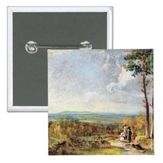 Brezo de Hampstead que mira hacia la grada, 1821 ( Pin