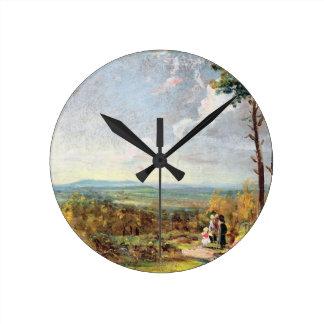 Brezo de Hampstead que mira hacia la grada, 1821 ( Relojes De Pared