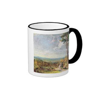 Brezo de Hampstead que mira hacia la grada, 1821 ( Tazas