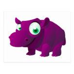 Brezo el Hippopotamus Tarjetas Postales