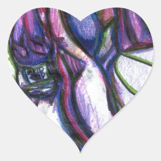 Brgratzztzti Heart Sticker