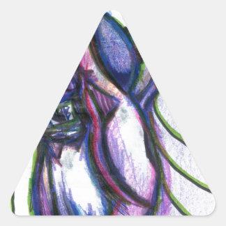 Brgratzztzti Triangle Sticker