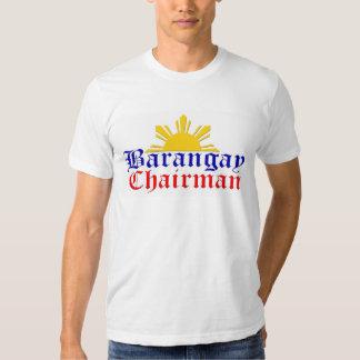 brgy chair sun t-shirt