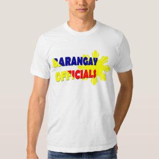 Brgy off. w/ sun t-shirt