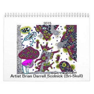 Bri-Skull 2015 Calendars
