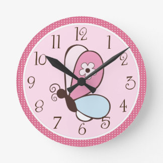 Bria Butterfly Clock