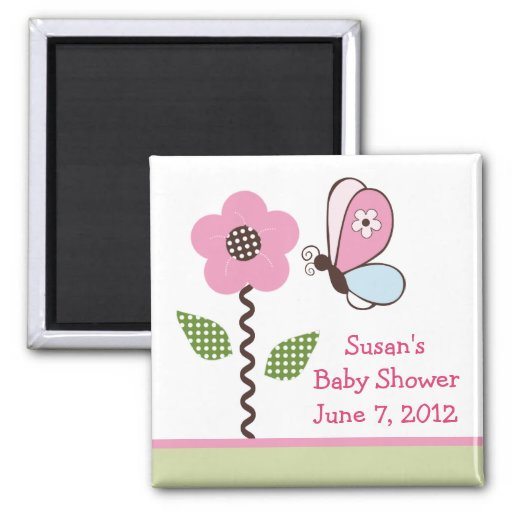 Bria Garden/Flower Magnet/Keepsake/ Favor Magnet