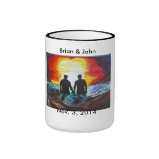 brian and john ringer coffee mug