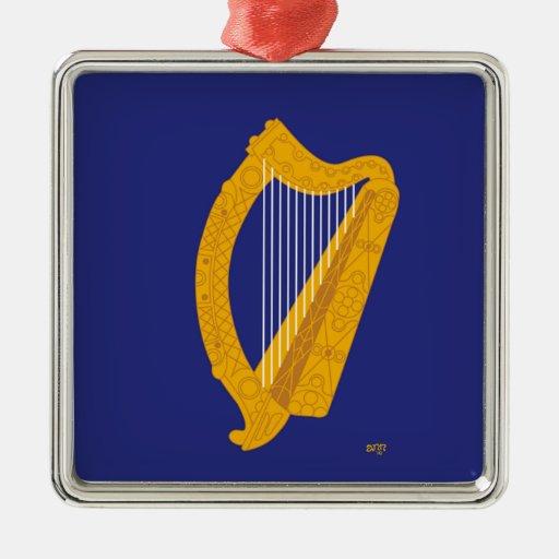 Brian Boru Harp Christmas Ornament