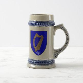 Brian Boru Harp Stein Coffee Mug