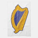 Brian Boru Harp Towels