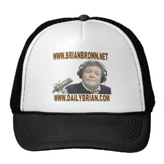 Brian Brown's Website Promotion Trucker Hat