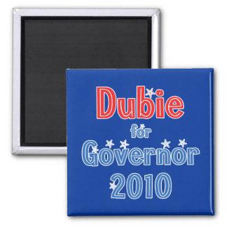 Brian Dubie for Governor 2010 Star Design Magnet