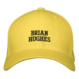 Brian Hughes Embroidered Baseball Cap