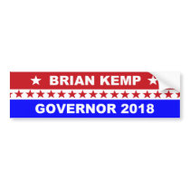 Brian Kemp Governor Georgia 2018 Bumper Sticker