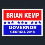 """Brian Kemp Governor Georgia 2018 Yard Sign<br><div class=""""desc"""">Brian Kemp Governor Georgia 2018 popular yard sign.</div>"""