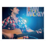 Brian Mackey Live In New York Poster