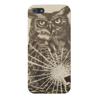 Brian Montuori Owl iPhone 5 case
