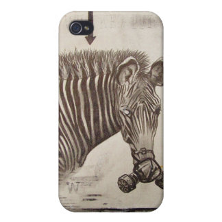 Brian Montuori Zebra iPhone 4 case