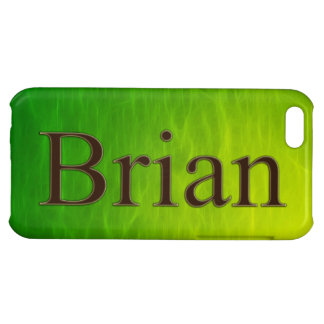 BRIAN Name Branded iPhone Cover