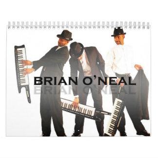 Brian O'Neal 2010 Calendar