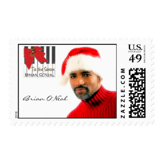 Brian O'Neal Holiday Postage