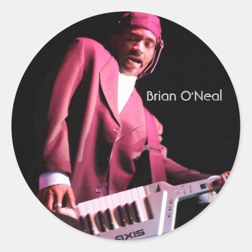 Brian O'Neal Performance Sticker