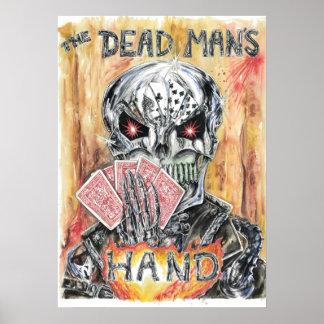 Brian Petty's The Dead Man's Hand Print