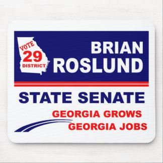 Brian Roslund for Georgia State Senate Mousepad
