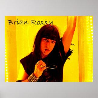 Brian Roxxy Poster