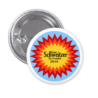Brian Schweitzer for President pin