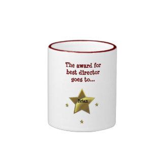 BRIAN: The Award For Best Director Ringer Coffee Mug