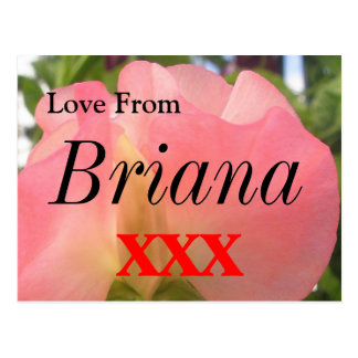 Briana Postcard