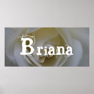 Briana Poster