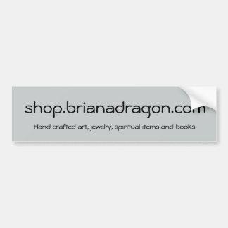 BrianaDragon Shop Promotion Bumper Sticker
