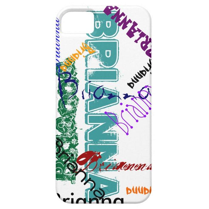 Brianna Case iPhone 5 Name Case