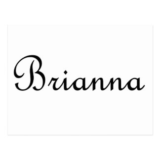 Brianna Postcard