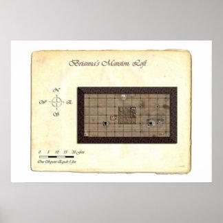 Brianna's Mansion (Loft) Battle Map Posters