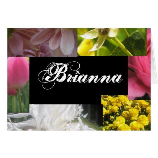 Brianna Tarjeta De Felicitación