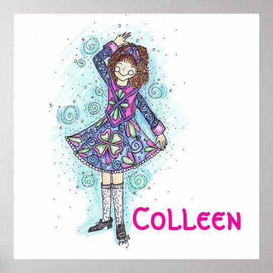 Brianne Irish Dancer Poster! Poster