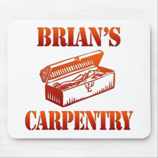 Brian's Carpentry Mouse Pad