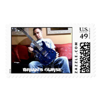 BRIAN'S CURSE Stamps
