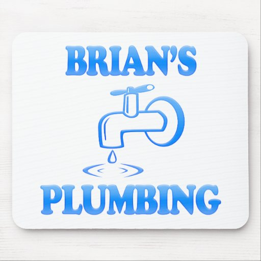 Brian's Plumbing Mouse Pad