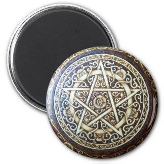 Briar Rose Pentacle Magnet