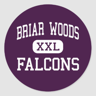 Briar Woods - Falcons - High - Ashburn Virginia Classic Round Sticker