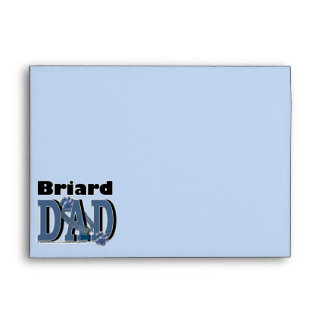Briard DAD Envelopes